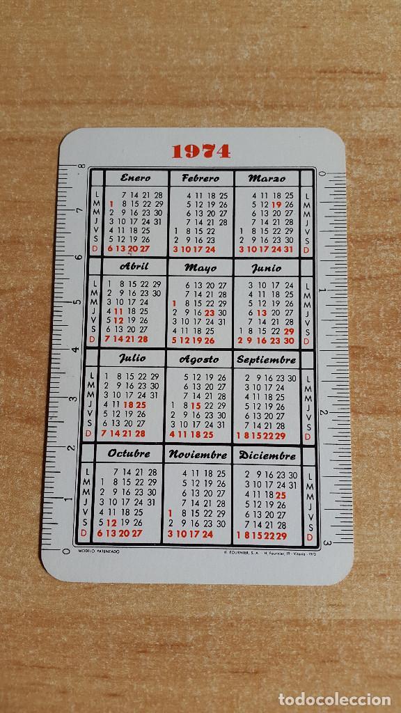 Coleccionismo Calendarios: CALENDARIO FOURNIER ACADEMIA CARRANZA AÑO 1974 - NUEVO - VER FOTO ADICIONAL - Foto 2 - 138784430
