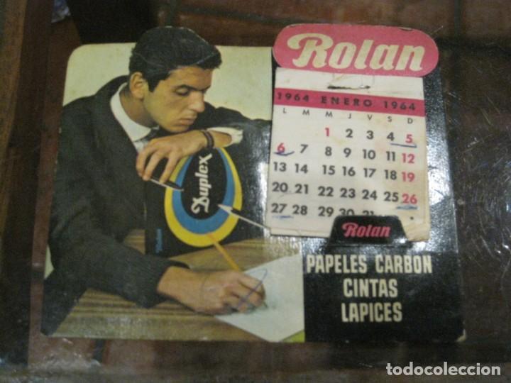 Coleccionismo Calendarios: 3 calendario de sobremesa 2 kores 1 rolan - en carton . buen estado 1964- 65 -68 - Foto 3 - 138793958