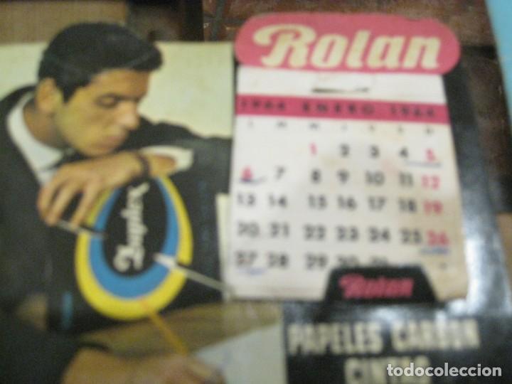Coleccionismo Calendarios: 3 calendario de sobremesa 2 kores 1 rolan - en carton . buen estado 1964- 65 -68 - Foto 4 - 138793958