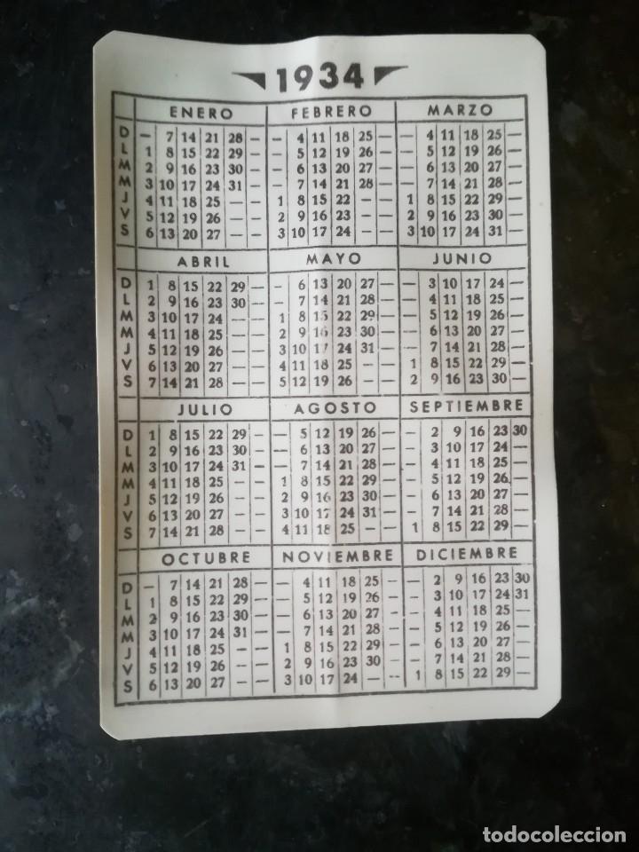 Calendario Bayern.Calendario Bayern De 1934