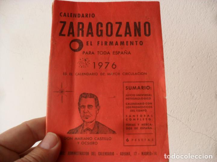 Calendario De 1976 Completo.Calendario Zaragozano 1976 Firmamento