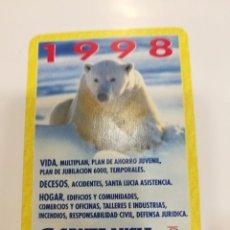 Collezionismo Calendari: CALENDARIO FOURNIER 1998. Lote 105615907