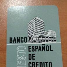 Coleccionismo Calendarios: ANTIGUO CALENDARIO FOURNIER BANCO BANESTO ESPAÑOL DE CRÉDITO 1973, COMO SE VE EN LA FOTO. Lote 139249210