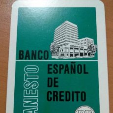 Coleccionismo Calendarios: ANTIGUO CALENDARIO FOURNIER BANCO BANESTO ESPAÑOL DE CRÉDITO 1970, COMO SE VE EN LA FOTO. Lote 139249234