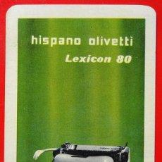 Coleccionismo Calendarios: CALENDARIO H.FOURNIER , HISPANO OLIVETTI AÑO 1954. Lote 139466966