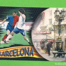 Collezionismo Calendari: CALENDARIO DE BOLSILLO 2011 - FÚTBOL - BARCELONA - CON PUBLICIDAD.. Lote 139612586