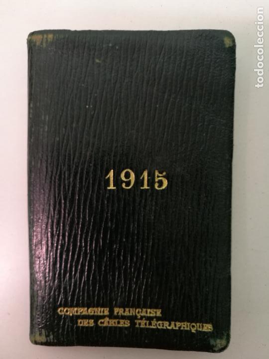 Calendario Frances.Calendario Frances 1915