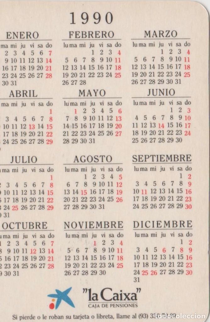 1990 Calendario.Calendarios Calendario 1990 Sold Through Direct Sale