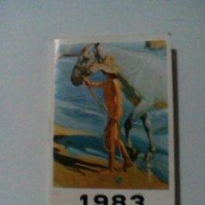 Coleccionismo Calendarios: CALENDARIO DE BOLSILLO 1983. Lote 140033798