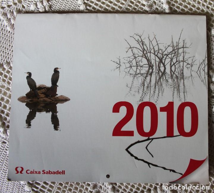 CALENDARIO DE CAIXA SABADELL DE FOTOGRAFÍAS NATURALES (2010) (Coleccionismo - Calendarios)