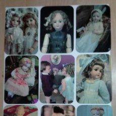 Coleccionismo Calendarios: -73489 9 CALENDARIOS MUÑECAS VINTAGE, AÑO 2019, PRECIOSAS IMÁGENES, EXCLUSIVAS MJMN. Lote 143930244