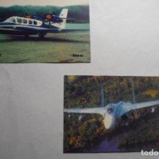 Coleccionismo Calendarios: LOTE CALENDARIOS 2002 EXTRANJEROS AVIONES. Lote 140467498