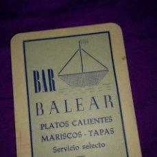 Coleccionismo Calendarios: CALENDARIO DE BOLSILLO 1965. Lote 140498358