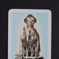 Coleccionismo Calendarios: CALENDARIOS BOLSILLO - TIBIDABO - FOURNIER - AÑO 1962. Lote 140854998