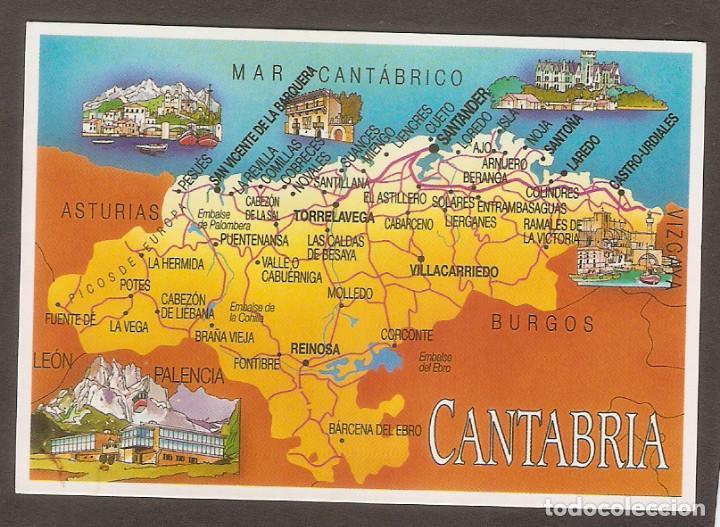 Mapa De Asturias Y Cantabria Juntos.Calendario De Bolsillo Ano 2012 Mapa Cantabria Escudo De Oro Santander Ver Foto Reverso