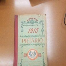 Coleccionismo Calendarios: DIETARIO 1915. Lote 141117450