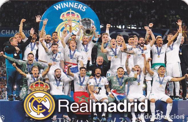 Calendario Real Madrid 2019.Calendario Futbol Real Madrid 2019 Sold Through Direct Sale