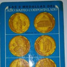 Coleccionismo Calendarios: FOURNIER 1976. CALENDARIO FOURNIER BANCO ZARAGOZANO AÑO SANTO COMPOSTELANO.. Lote 141564158