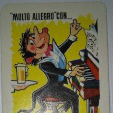 Coleccionismo Calendarios: FOURNIER 1964. CALENDARIO FOURNIER CERVEZAS EL TURIA. AÑO 1964.. Lote 141565710