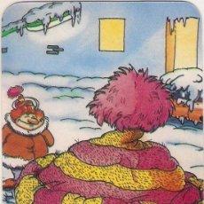 Coleccionismo Calendarios: -60235 CALENDARIO DIBUJO HUMOR NAVIDAD,AÑO 1989, CON PUBLICIDAD, EXTRANJERO. Lote 141810034
