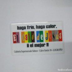 Coleccionismo Calendarios: CALENDARIO DE BOLSILLO. CAFE DE JESUS. LOGROÑO 2004. TDKP13. Lote 141931534
