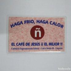 Coleccionismo Calendarios: CALENDARIO DE BOLSILLO. CAFE DE JESUS. LOGROÑO 2005. TDKP13. Lote 141931614