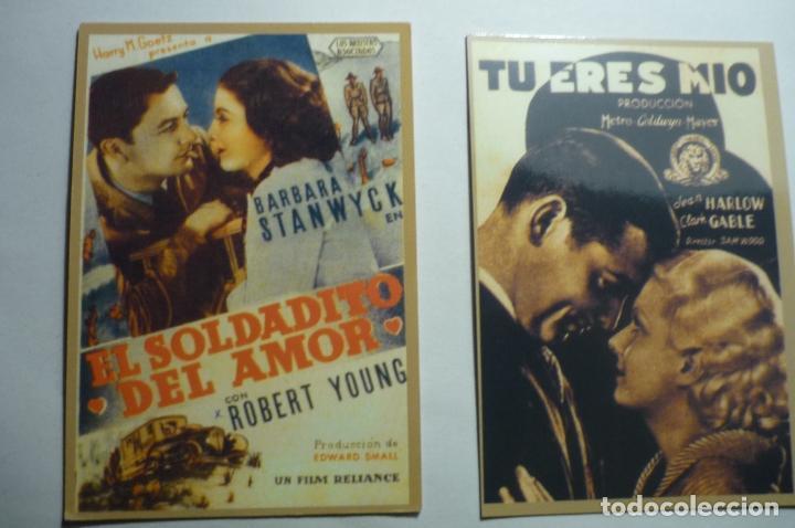 LOTE CALENDARIOS CINE PELICULAS AMERICANAS 1947 (Coleccionismo - Calendarios)