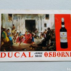 Coleccionismo Calendarios: CALENDARIO DUCAL OSBORNE. Lote 142340226