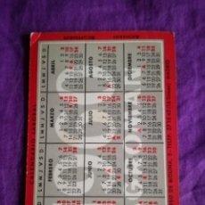 Coleccionismo Calendarios: CALENDARIO DE BOLSILLO AGROMAN 1960 1961. Lote 142434450