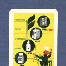 Coleccionismo Calendarios: CALENDARIO DE BOLSILLO FOURNIER AÑO 1964 - FAGOR, ELECTRODOMESTICOS. Lote 142585146