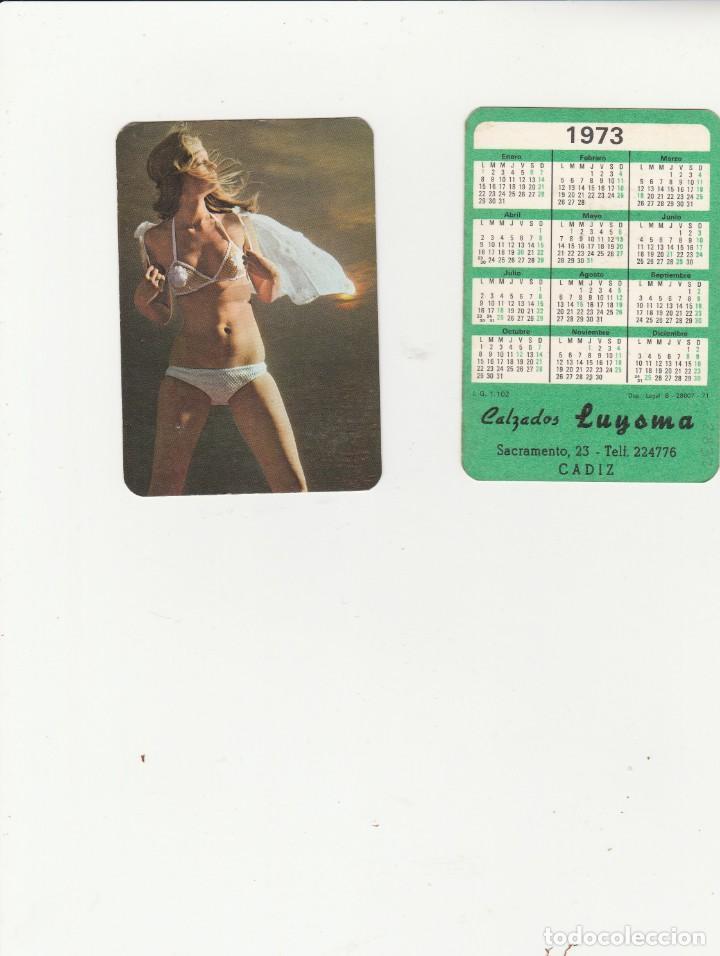 Calendario Serie A 17 18.Calendario Erotico 1973 Serie I G 1102 Publicidad Calzados Luysma Cadiz