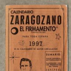 Coleccionismo Calendarios: CALENDARIO ZARAGOZANO EL FIRMAMENTO - 1997. Lote 142794922