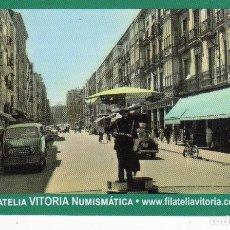 Coleccionismo Calendarios: CALENDARIO BOLSILLO - FILATELIA VITORIA - NUMISMÁTICA - AÑO 2018. Lote 142885882