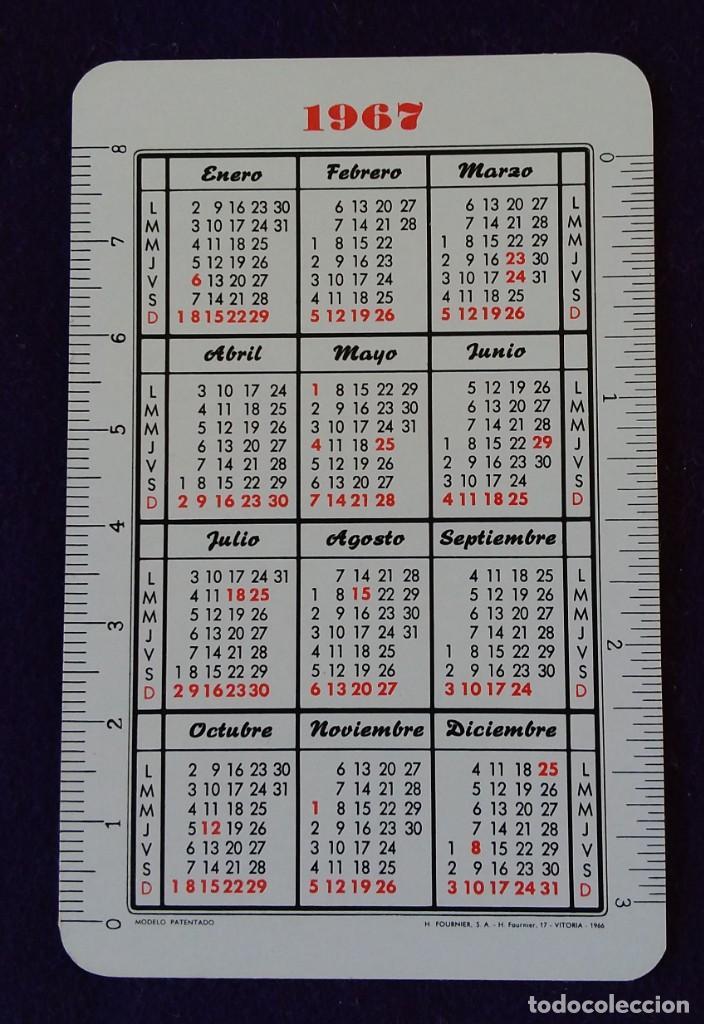 Coleccionismo Calendarios: CALENDARIO FOURNIER. CAJA DE AHORROS DE NAVARRA. 1967 - Foto 2 - 142900334