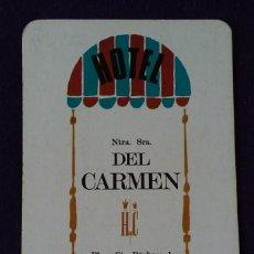 Coleccionismo Calendarios: CALENDARIO FOURNIER. HOTEL DEL CARMEN. 1966. Lote 142977762
