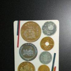Coleccionismo Calendarios: CALENDARIO 1991 MONEDAS FNMT - BANCO HISPANO AMERICANO. Lote 143155578