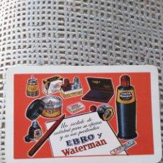Coleccionismo Calendarios: FOURNIER EBRO Y WATERMAN 1965. Lote 143244794