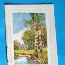 Coleccionismo Calendarios: ALMANAQUE CALENDARIO CHOCOLATE CHOCOLATES AMATLLER PARA 1921.. Lote 143385250