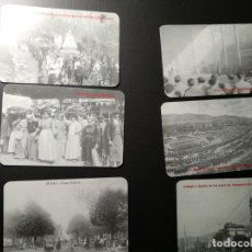 Coleccionismo Calendarios: LOTE 6 CALENDARIOS 2001 FILATELIA UNAMUNO. BILBAO. Lote 143598646