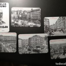Coleccionismo Calendarios: LOTE 6 CALENDARIOS 2003 FILATELIA UNAMUNO. BILBAO. Lote 143598850