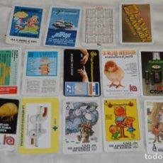 Coleccionismo Calendarios: LOTE DE 14 CALENDARIOS FOURNIER - VARIADOS - MADE IN SPAIN - AÑOS 80 Y 90 - ENVÍO 24H. Lote 143873034