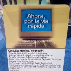 Coleccionismo Calendarios: CALENDARIO . Lote 143915642