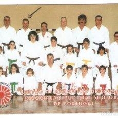Coleccionismo Calendarios: CALENDARIO DE BOLSILLO PORTUGAL AÑO 2001 DEPORTES - ARTES MARCIALES - KARATE - VER FOTO REVERSO. Lote 143928570