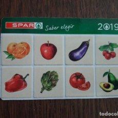 Coleccionismo Calendarios: CALENDARIO DE PUBLICIDAD SUPERMERCADOS SPAR AÑO 2019. Lote 143932162