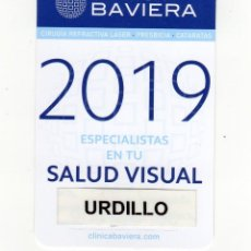 Coleccionismo Calendarios: CALENDARIO BOLSILLO - CLÍNICA BAVIERA - AÑO 2019. Lote 144240493