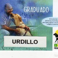 Coleccionismo Calendarios: CALENDARIO BOLSILLO - FUNDACIÓN ONCE PERRO GUÍA - AÑO 2019. Lote 151914748