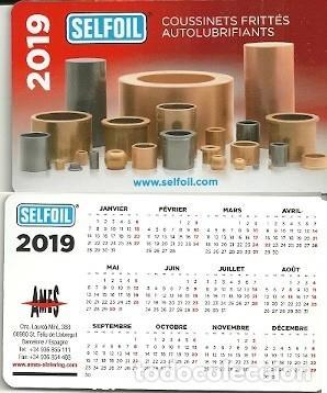 Calendario Frances.Calendario Publicitario Cojinetes Ames Selfoi Sold