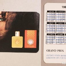 Coleccionismo Calendarios: CALENDARIO EDITADO EN PORTUGAL- AÑO 1986 - GRAND PRIX. Lote 144435670