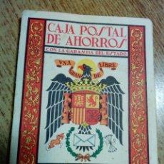 Coleccionismo Calendarios: ALMANAQUE CAJA POSTAL DE AHORROS 1964 - SIN ANOTACIONES - CON CALENDARIO DE LIGA FÚTBOL 1ª DIVISIÓN. Lote 179035257
