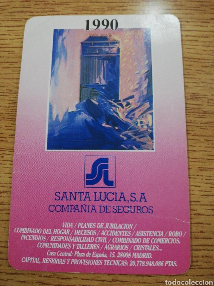 Santa Lucia Calendario.Calendario Fournier Santa Lucia 1990
